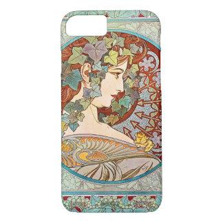 Capa iPhone 8/ 7 Hera de Alphonse Mucha