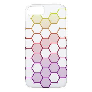 Capa iPhone 8/ 7 Hex da cor no branco
