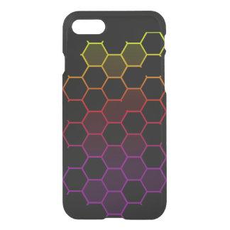 Capa iPhone 8/7 Hex da cor no preto