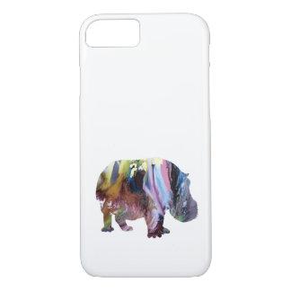 Capa iPhone 8/ 7 Hippopotamus