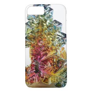 Capa iPhone 8/ 7 Hipster de cristal da foto de pedra preciosa do