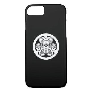 Capa iPhone 8/ 7 Hollyhock 5 de Tokugawa (5o Tsunayoshi) 23