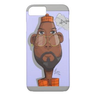 Capa iPhone 8/ 7 Homem tradicional africano