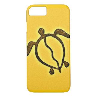 Capa iPhone 8/ 7 Honu dourado Havaí