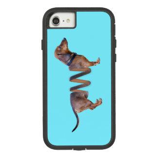Capa iPhone 8/ 7 Humor furtivo do cão de Weiner da cerceta