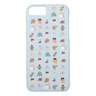 Capa iPhone 8/ 7 Ícones da beleza, encantos lindos, perfume