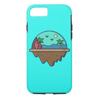 Capa iPhone 8/ 7 Ilha Serie - exemplo de ilha da praia