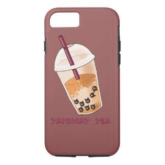Capa iPhone 8/ 7 Ilustração da chalaça do chá de Tapiocat