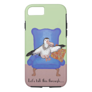 Capa iPhone 8/ 7 Ilustração do albatroz