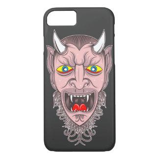 Capa iPhone 8/ 7 Ilustração retro do diabo