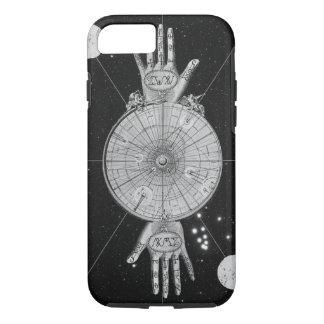 Capa iPhone 8/ 7 Imagem metafísica da astrologia do vintage