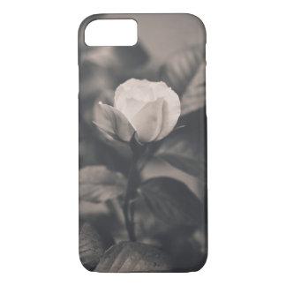 Capa iPhone 8/ 7 Imagem monocromática do rosa