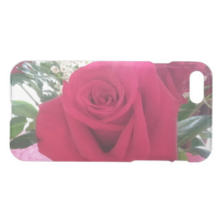 Capa iPhone 8/7 Imagem romântica da rosa vermelha