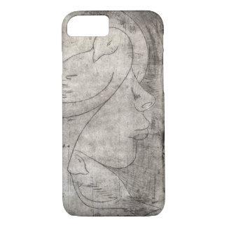 Capa iPhone 8/ 7 Impressão à menina