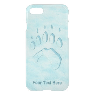 Capa iPhone 8/7 Impressão da pata de urso polar