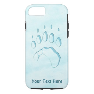 Capa iPhone 8/ 7 Impressão da pata de urso polar