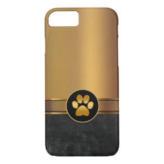 Capa iPhone 8/ 7 Impressão da pata do tema do cão