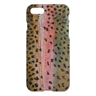 Capa iPhone 8/7 Impressão da pele dos peixes da truta de arco-íris