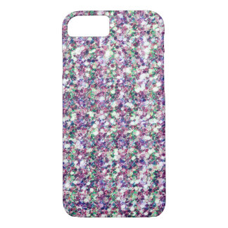Capa iPhone 8/ 7 Impressão multicolorido da textura do brilho