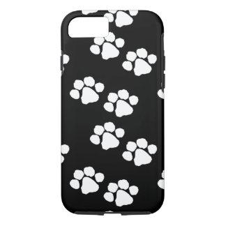 Capa iPhone 8/ 7 Impressões da pata dos animais de estimação