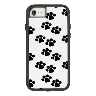 Capa iPhone 8/ 7 Impressões da pata para proprietários do animal de