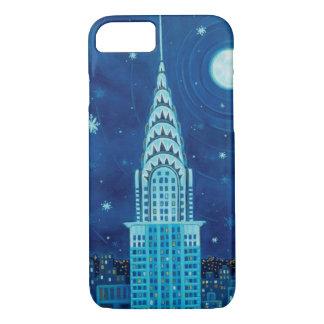 Capa iPhone 8/ 7 Inverno no caso do iPhone 7 da Nova Iorque