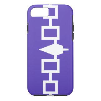 Capa iPhone 8/ 7 IPhone 7/8 de caso - design da correia de Hiawatha