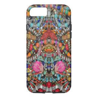 Capa iPhone 8/ 7 iPhone 7/8 de caso duro, impressão da jóia do