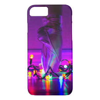 Capa iPhone 8/ 7 iPhone 7/8 de caso - luzes de Natal & calçados de