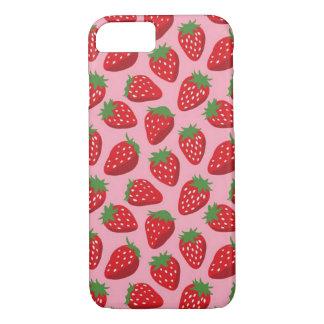 Capa iPhone 8/ 7 Iphone 7/8 mal lá de caso, rosa das morangos