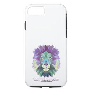 Capa iPhone 8/ 7 iPhone 7 da coragem do leão