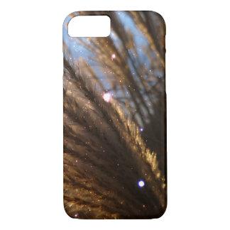Capa iPhone 8/ 7 iPhone 7 de Apple, raios claros do trigo dourado
