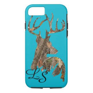 Capa iPhone 8/ 7 iPhone 7 de Camo da caça, caso resistente