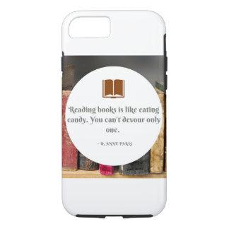 Capa iPhone 8/ 7 iPhone 8/7 de Apple, citações resistentes do livro