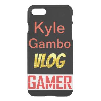 Capa iPhone 8/7 iphone 8/7 de exemplo do gamer do vlog