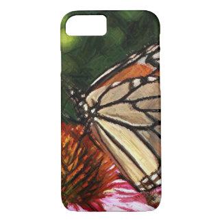 Capa iPhone 8/ 7 iPhone 8/7 do jardim da borboleta, mal lá caso