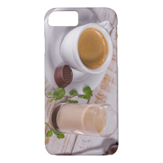 Capa iPhone 8/ 7 iPhone acolhedor do café 8/7 de caso