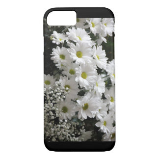 Capa iPhone 8/ 7 Iphone bonito telefone cas da margarida traseira e