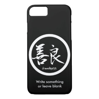 Capa iPhone 8/ 7 iPhone branco de Kamon   do Kanji dos bens 7 casos