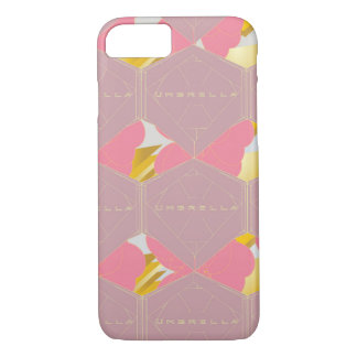 Capa iPhone 8/ 7 iPhone cor-de-rosa 7 do ouro, mal lá