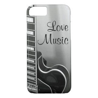 Capa iPhone 8/ 7 iPhone customizável NOVO da música do amor 8/7 de