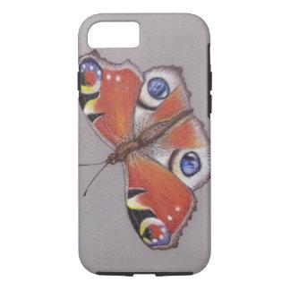 Capa iPhone 8/ 7 Iphone da borboleta de pavão 8/7 de caso