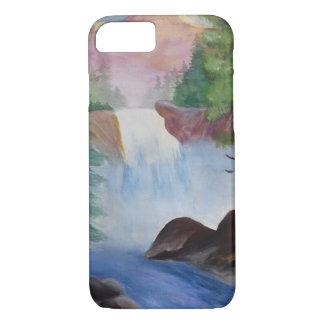 Capa iPhone 8/ 7 iPhone da cachoeira da montanha 8/7 mal lá de caso