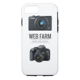 Capa iPhone 8/ 7 iPhone da fazenda da Web 7/8 de caso