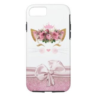 Capa iPhone 8/ 7 iPhone da princesa Gatinho 7/8 de caso