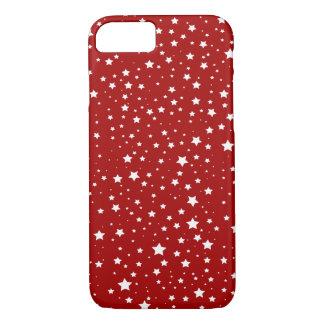 Capa iPhone 8/ 7 iPhone de Apple 8/7 de Natal da neve da estrela do