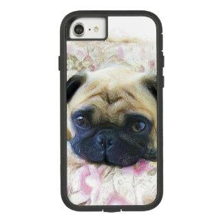 Capa iPhone 8/ 7 Iphone do cão do Pug 8/7 de caso
