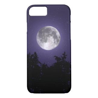 Capa iPhone 8/ 7 iPhone do céu nocturno da floresta 8/7 de caso