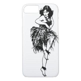 Capa iPhone 8/ 7 iPhone do dançarino de Hula 7/8 de caso