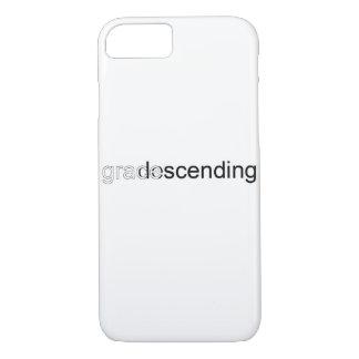 Capa iPhone 8/ 7 iPhone do logotipo do texto 6/7/8 de caso